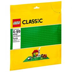 Конструктор LEGO Classic Строительная пластина зеленого цвета 10700