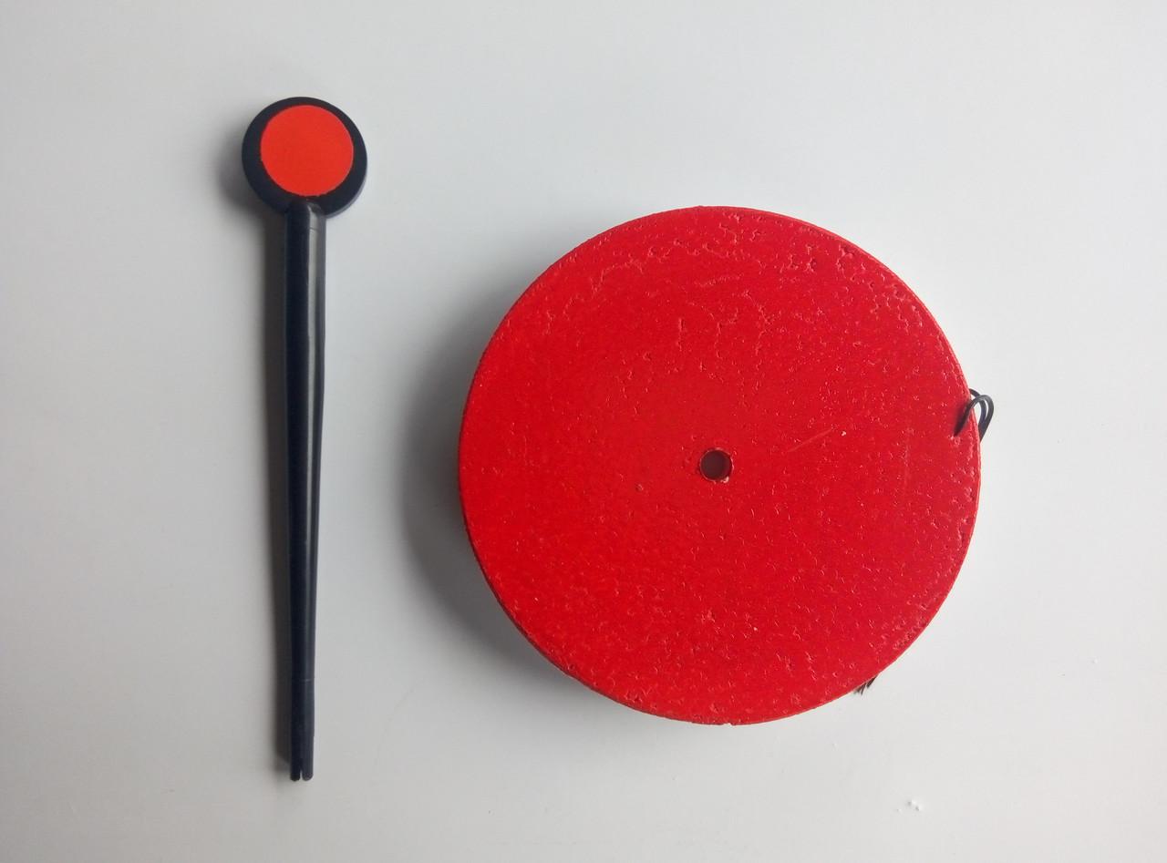 Кружок пенопластовый оснащенный 130мм