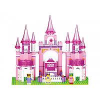 Конструктор «Розовая мечта.Замок принцессы»Sluban M38-B0152, 472 детали