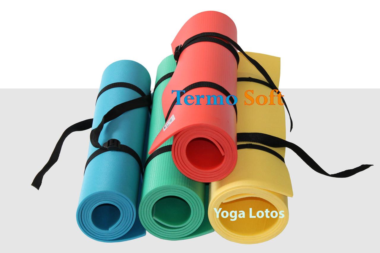 """Каремат, коврик """"Yoga Master"""" для занятий йогой, фитнесом, аэробикой."""