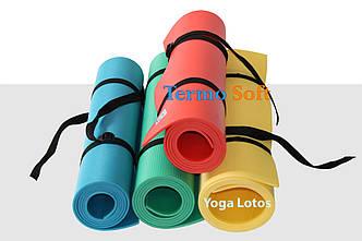 """Каремат, коврик """"Yoga Lotos"""" для занятий йогой, фитнесом, аэробикой."""