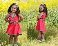 Летнее платье Барбери для девочек в расцветках.