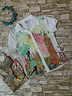Блуза шифоновая 6-10 лет. Турция