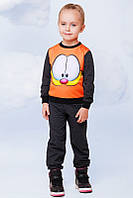 """Спортивный костюм для девочек принт """" Garfield"""""""