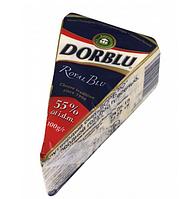Сир ДорБлю (DorBlu Kaserei) фасовка 55%, 100 г