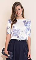 Женский свитер с цветочным рисунком Kimbra Zaps, коллекция весна-лето 2017.