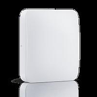 Светодиодный накладной светильник MAXUS 24W квадрат 3000К теплый свет (1-LCL-005-04-S)