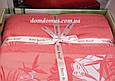 Махрове простирадло Best Rose Bamboo 200*220, коралова, фото 2