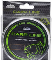Леска Fishing ROI Dark Green Carp Line d=0.286mm 9.8kg 350m