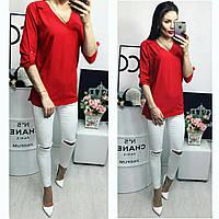 Блузка женская, модель 775, красный, фото 1