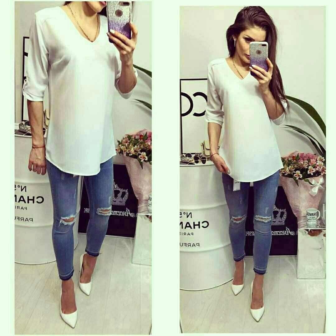 Блузка женская, модель 775, белый, фото 1