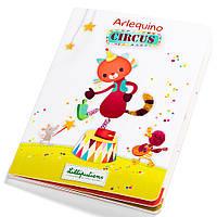 """Lilliputiens - Картонная книга """"Цирк"""""""