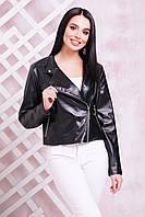 Куртка-жакет 1714 черный