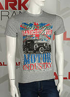 Valimark качественная мужская футболка manchester motor industry код 17210