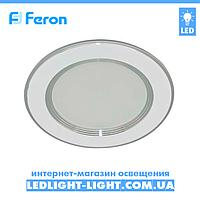 Врезная светодиодная панель Feron AL527 5W, белый, нейтральный 4000К