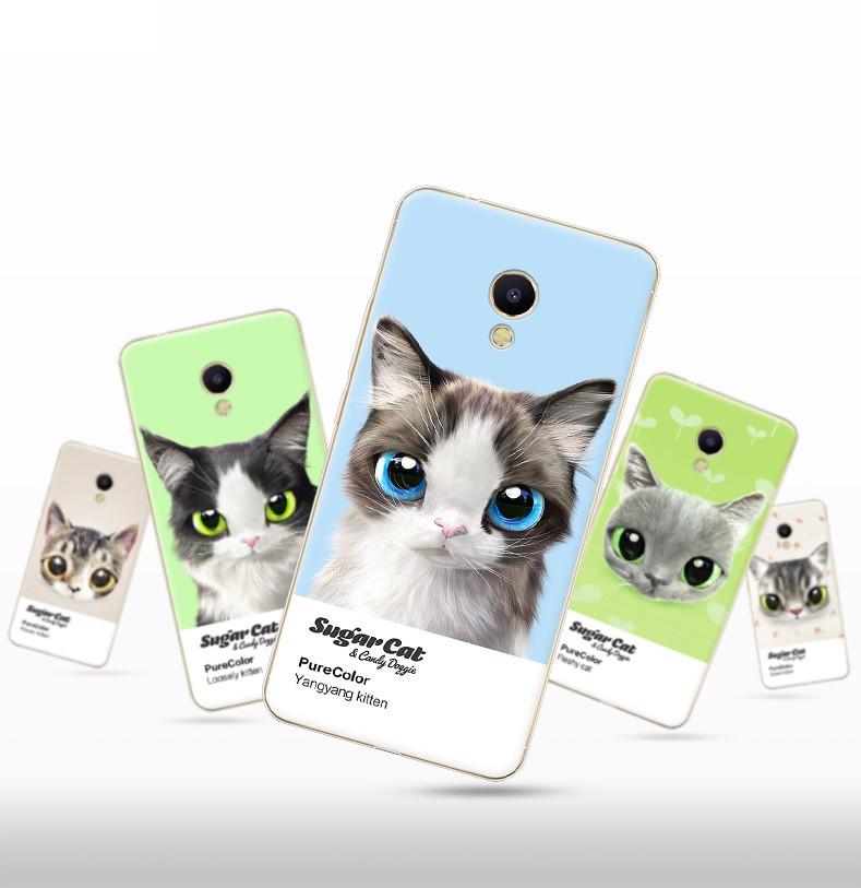 """Meizu M5 NOTE оригинальный противоударный чехол панель накладка бампер с ПРИНТОМ РИСУНКОМ для телефона """"CATS"""""""