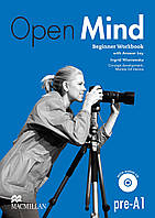 Open Mind Beginner Workbook with Answer key and Audio CD. Pre-A1 (Проект № 6)