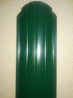 Металевий євроштахетник глянець ширина 10,5см (товщина 0,35мм)