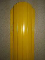 Металевий євроштахетник глянець ширина 10,5см (товщина 0,4мм)