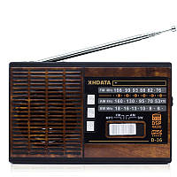 XHDATA Д-36 FM/AM/SW 3 Радиодиапазоне с MP3-Music-Player