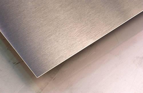Лист нержавеющий 0,7х1500х3000мм AISI 430(12Х17) 4N+PVC шлифованный в пленке