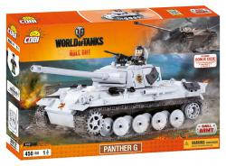 Конструктор COBI World of Tanks Пантера, 450  деталей COBI-3012