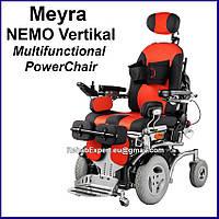 Электрическое кресло-коляска с вертикализатором Meyra NEMO Vertical Stand Up Power Chair