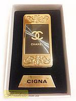 Зажигалка USB Cigna с фонариком 4810