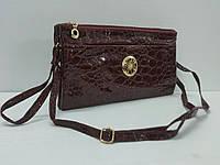 Женский клатч кожзам сумочка женская 5 отделов