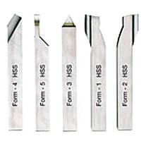 Токарные резцы из кобальтовой быстрорежущей стали PROXXON для PD 230/E 24530