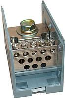 Кабельный разветвитель 150/12 (350 А) 12 отв.×10 мм²