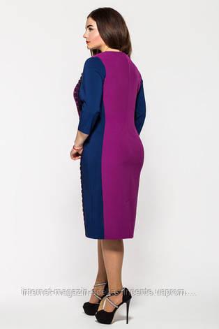 Платье больших размеров 52-58 SV V1136, фото 2