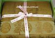 Махрове простирадло Best Rose Bamboo 200*220, оливковий, фото 2