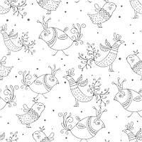 Бумага для дизайна и творчества #2084. Птички.