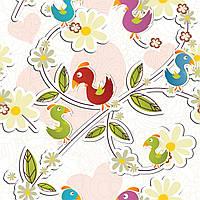 Бумага для дизайна и творчества #2086. Птички.