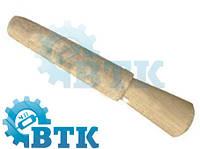 Насадка войлочная конусная на деревянном диске d-22-26 мм, 130 мм