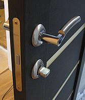 Установка одинарной межкомнатной двери с врезкой фурнитуры
