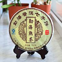 """Шу Пуэр """"Лао Бань Чжан"""" Дворцовый"""" 2008 года 357 граммов"""