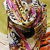 Шарф шёлковый леопард , фото 3
