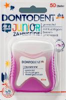 Зубна нитка для дітей DONTODENT Zahnseide Junior, 50 m