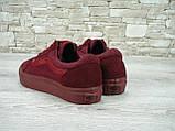 Кеды женские Vans Old Skool 30260 бордовые, фото 5