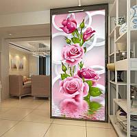 Алмазная вышивка 5D, Розы 30*56