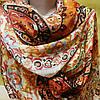 Шарф шёлковый разноцветный с узором , фото 4