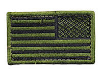 Condor USA Flag Velcro Patch Reverse OD