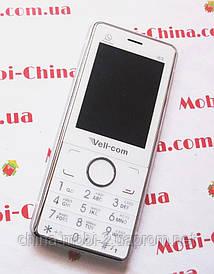 Кнопочный мобильный телефон vell-com i6s в стиле iPhone 6, Silver