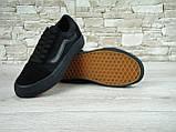 Кеды мужские Vans Old Skool 30263 черные, фото 5