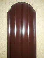 Металевий євроштахетник глянець  2-х сторонній, ширина 10,5см (товщина 0,45мм)