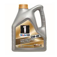 Моторное масло для двигателя Mobil1(Мобил) 0W40 4литра