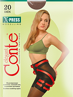 Колготы CONTE X-PRESS 20 ден (nero, bronz, natural, shade) (2; 3; 4)