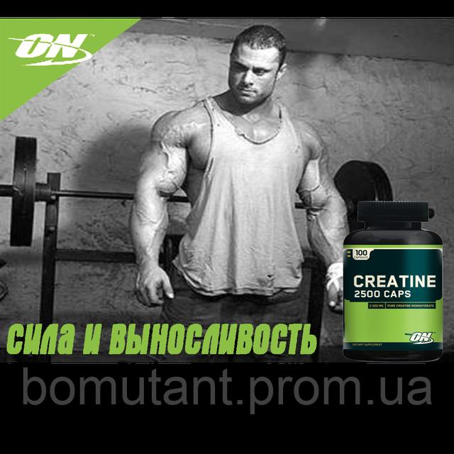 креатин optimum nutrition creatine 2500 100 caps